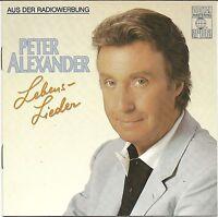 (CD) Peter Alexander - Lebenslieder (1986)