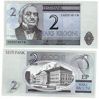 Estonie ESTONIA Billet 2 KROONI 2006 NOUVEAU UNC NEUF