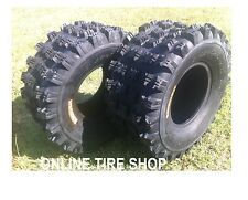 NEW HONDA TRX 450R ( 04-09 ) PAIR (2) 20x10-9 AMBUSH SPORT ATV TIRES - REAR