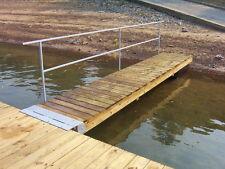 DIY 3 ft. wide Boat Dock Ramp Hinge Kit (Floating Or Fixed)