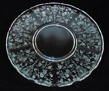 "Cambridge ROSE POINT CRYSTAL * 14"" TORTE PLATE* 3900/66*"