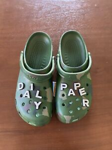 Crocs x Daily Paper Classic Clog Size 11M *SOLD OUT*