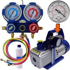 Kit Pompe a vide pour tirage au vide et recharge gaz Climatiseur R410A
