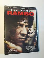 Rambo DVD new sealed stallone widescreen