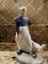 Vintage Royal Copenhagen Figurine Goose Girl