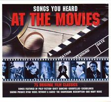 SONGS YOU HEARD AT THE MOVIES - 75 FILM CLASSICS -  VARIOUS ARTISTS (NEW 3CD)