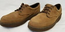 Footonic II Eva Tech Brown Leather Oxford Walkabout Shoes Men's Size 10D VGPC