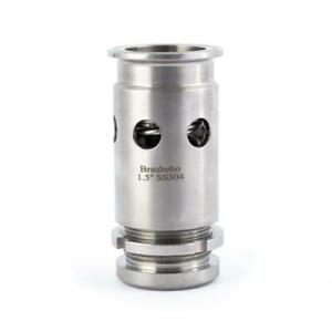 Triclamp Edelstahl Vakuum-/Überdruckventil