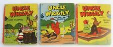 UNCLE WIGGILY Lot 3 On Roller Skates His Flying Rug Goes Camping Howard R Garis