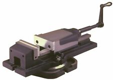 Hydraulic Power Milling Machine Vice With Swivel Base 100 mm From Chronos