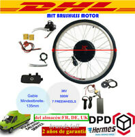 """Kit de Conversión Motor Eléctrico para Bicicleta 36V 28"""" Velocidad Rueda Trasera"""