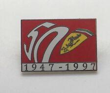 FERRARI 1947-1997 Ferrari 50th Anniversary Lapel Pin Double Back  Pin