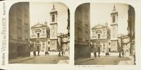 Francia Nice La Cattedrale, Foto Stereo Vintage Analogica PL62L11