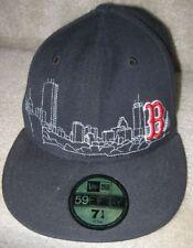 MLB Boston Red Sox Baseball Hat Cap 7 1/4 Great Design by New Era NEW