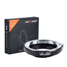 K&F Lens Mount Adapter for Leica M to Micro 4/3 Olympus PEN and Panasonic G3 GH4
