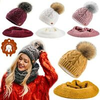 Set Scarf Or Hat Women Winter Mohair Wool Knitted Beanie Hat Worm Neck Fleece