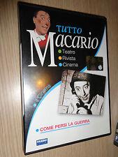 DVD TUTTO MACARIO IL CINEMA COME PERSI LA GUERRA