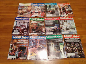 Vintage Country Living Magazine lot 1984