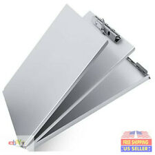 Aluminum Clipboard Metal with Storage Form Holder Aluminum Metal Binder with .
