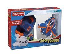 Geotrax Remote Control GeoAir Plane - Blue Flash & Dynamo Dan Most Exciting Team