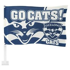 AFL GEELONG CATS CAR FLAG - Footy Fans Aussie Rules
