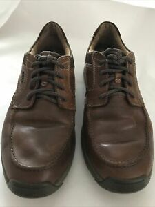 MENS CLARKS  1825 ACTIVE AIR BROWN LEATHER SHOES SIZE 10G