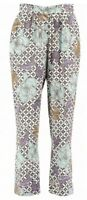 Pomodoro Trousers Floral Holiday Summer New Size 14