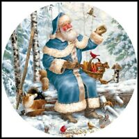 Winter Holiday - DIY Chart Counted Cross Stitch Patterns Needlework Christmas