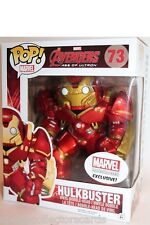 "FUNKO pop Hulkbuster iron MAN 6"" MARVEL COLLECTOR CORPS EXCLUSIVE #73 NMIB"