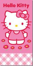 Hello Kitty Kinder Badetuch Velouroptik 75 x 150 cm  Balloon neu