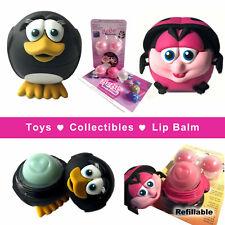 3 Pack BeBe Bartoons Lip balms - 2 animals & 1 refill pack