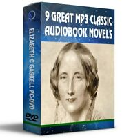 9 Great Mp3 Classic Audiobook Novels By Elizabeth C Gaskell DISC