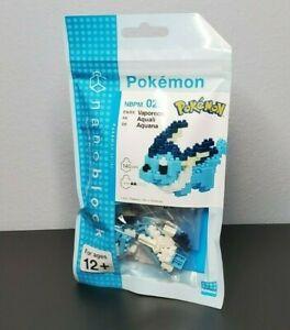 Kawada Nanoblock Pokemon Vaporeon