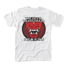 DEVIL WEARS PRADA The ONI Mask MENS White SIZE XXL T-shirt NEW