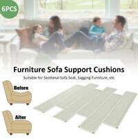 6PCS Furniture Sofa Support Cushions 48x10x0.8CM Fix Sectional Seat Sagging