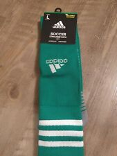 Brand New! Adidas Adult Large, Copa Zone Soccer Socks, Green!