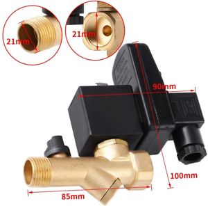 Automatic Drain Valve G1/2 DN15 Automatic Electronic Timed Drain Valve Durable