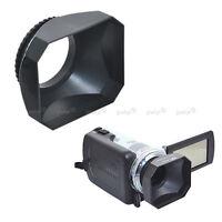 Parasoleil Pare-Soleil pour Objectif 37mm Digital Caméra Vidéo Standard DV