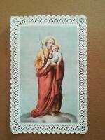 Canivet dentelle Holy Card image pieuse couleur - Saint Joseph - Ernoud