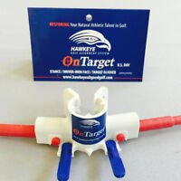 HAWKEYE GOLF ONTARGET CLUB ALIGNER  IMPROVES ALIGNMENT INSTANTLY LOWER SCORES