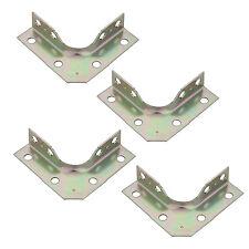 "National N245-720 2-1/2"" X 5/8"" Zinc Plated Corner Braces w/ screws (Pack of 4)"