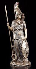 Deidad figura Athena con Búho Veronese estatua Atenea diosa griego Decoración
