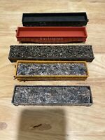 HO Scale Gondola Parts Lot W/ Loads Mixed Railway Lot Of 5 Need Work