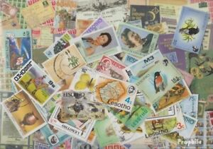 lesotho 300 different stamps