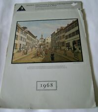 Switzerland Alt Basel Johann Jakob Schneider Painter Art 1968 German Text 16""
