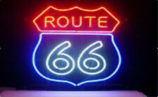 Route 66 Neon Light Sign 20''x16'' L66 ship from USA