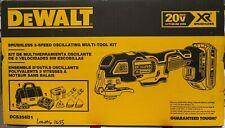 Sealed DeWALT DCS356D1 20V MAX XR Brushless Cordless Oscillating Multi-Tool Kit
