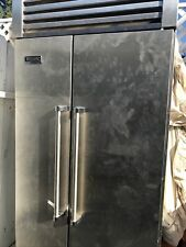 "36"" Counter Depth Refrigerator Freezer Stainless Steel Viking Vcsb360Ss06 #3749"