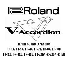 Roland FR-7X/FR-8X/FR-3X/FR-3X ALPINE SOUND EXTENSION V Accordeon Accordion