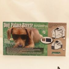 Size Large Dog Palace Breeze Dog House Solar Powered Fan
